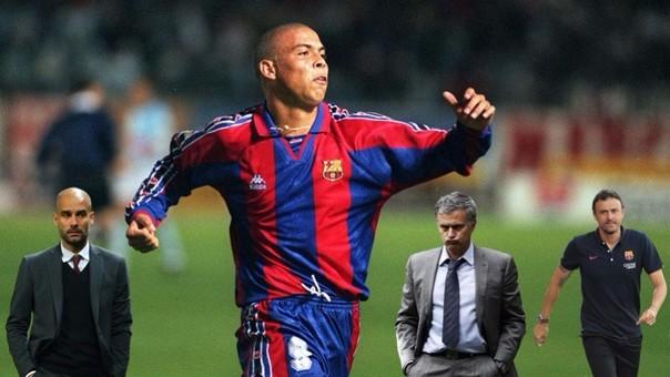Ronaldo se las ingenió para burlar a Pep Guardiola, José Mourinho y Luis Enrique.