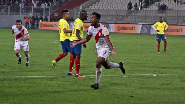 Declaraciones Renato Tapia tras el Perú 2-1 Ecuador por Eliminatorias.
