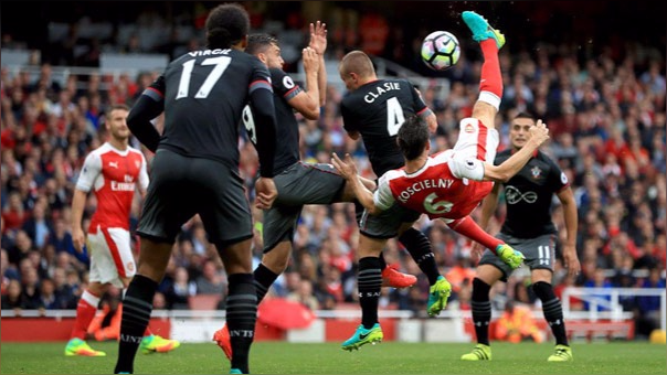 Arsenal 2-1 Southampton (Resumen del partido)