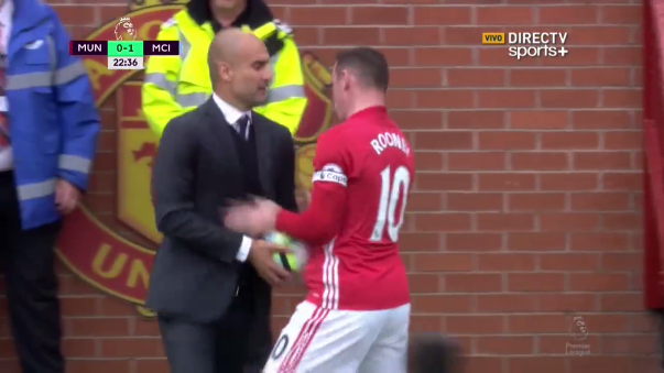 Pep Guardiola enfrentó a Rooney por última vez en la final de la Champions 2011 donde ganó Barcelona 3-1.