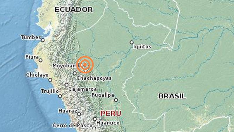 El movimiento telúrico se sintió en varias localidades del norte del país, incluso hasta Trujillo y Chiclayo.