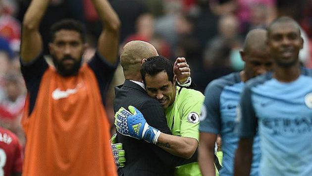 Claudio Bravo llegó al Manchester City por pedido expreso de Josep Guardiola.