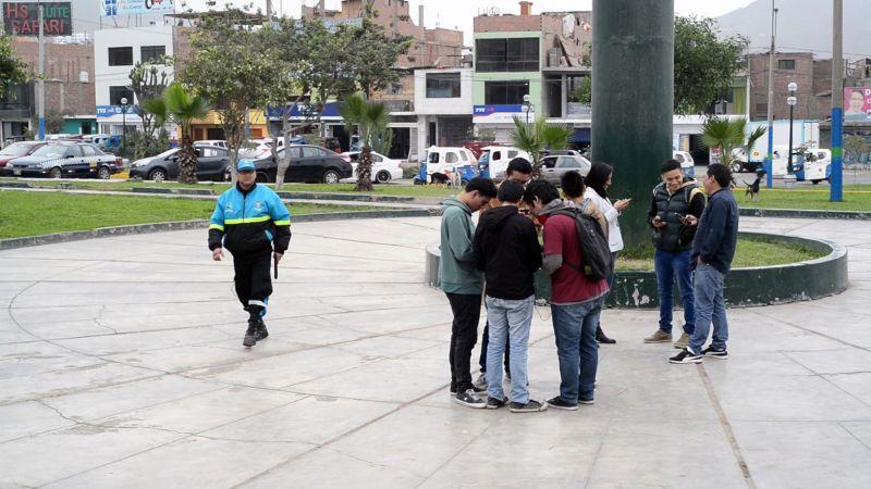 Mario Amoretti alertó que la retención de celulares en La Punta es un delito.