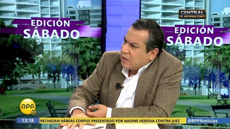 Gustavo Adrianzén justificó la salida de Julia Príncipe de la Procuraduría de Lavado de Activos cuando él era ministro de Estado.