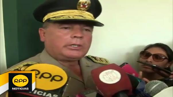 Nuevo jefe policial brindó sus primeras declaraciones a la prensa