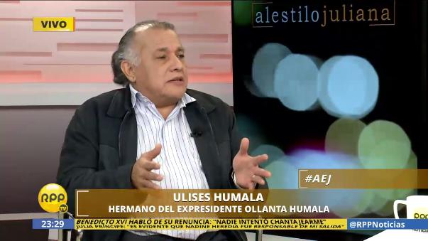 Ulises Humala considera que sucedieron cosas muy raras en la muerte de su sobrino.