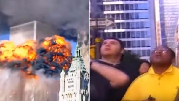 Videos en YouTube muestra cómo se vivió el 11 de setiembre en las calles de Nueva York.