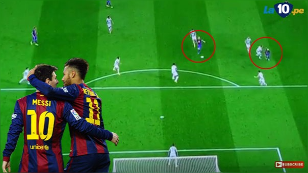 Lionel Messi marcó para el Barcelona ante Celtic tras genial pared con Neymar