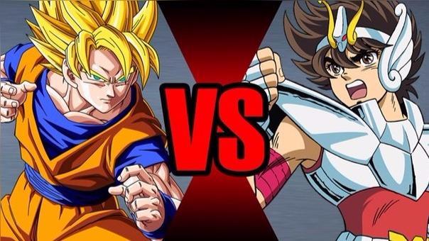 Seiya VS Goku.