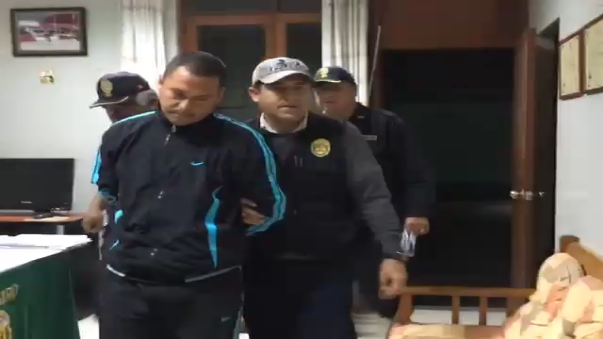 El detenido  fue trasladado a la comisaría de Barranca y puesto a disposición de la Fiscalía de turno.