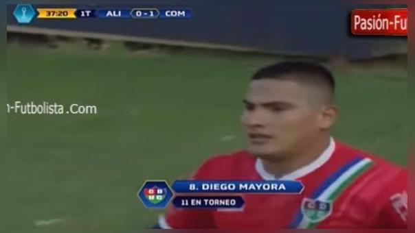 Diego Mayora anotó 19 goles con Unión Comercio.