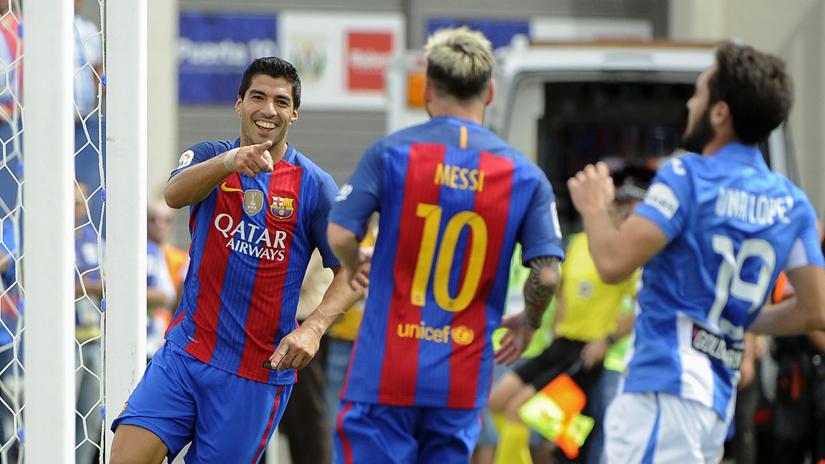 Suárez y Messi volvieron a lucirse en un nuevo triunfo de Barcelona.