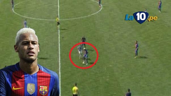 Neymar y un nuevo lujo con el Barcelona.