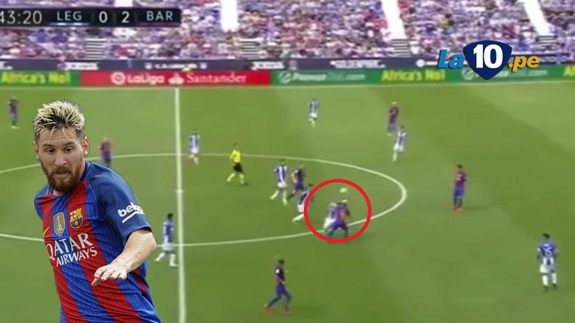 Messi volvió a brillar en Barcelona con esta 'joya'.