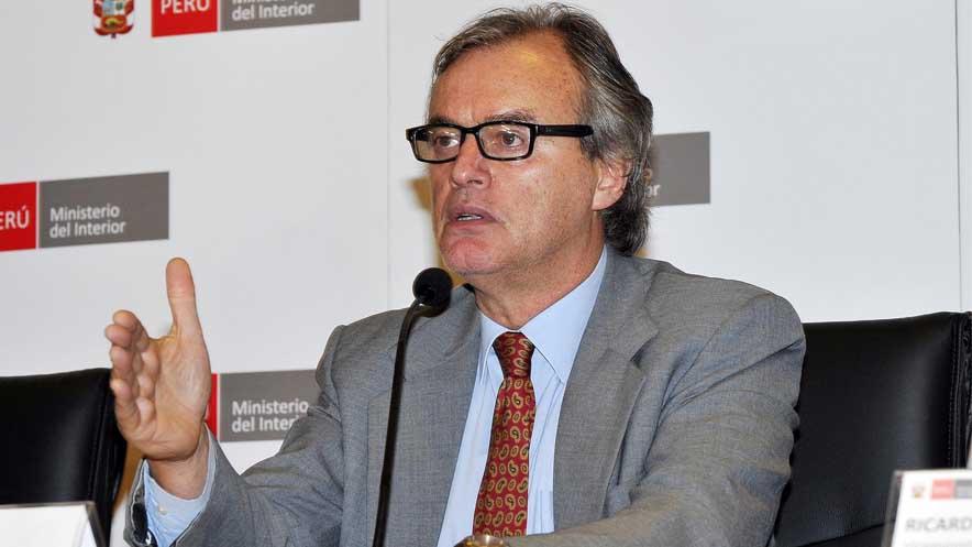 El caso 'Escuadrón de la muerte' explotó en los medios pocos días de que Carlos Basombrío asumiera el cargo de ministro del Interior.