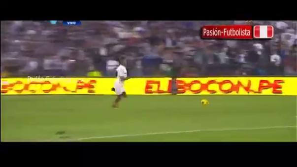 Andy Polo falló una clara situación de gol.