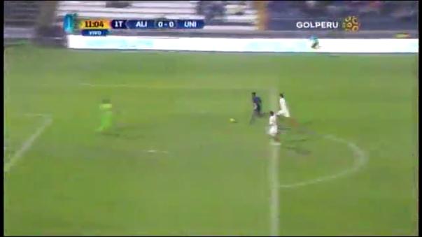 Lionard Pajoy está jugando su primera temporada con Alianza Lima.