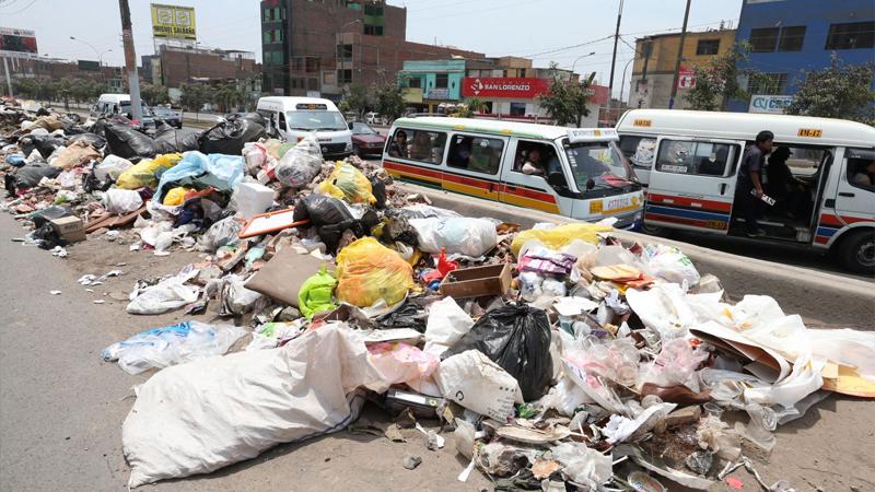 Situación de la basura en el Perú.