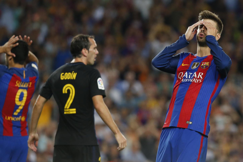 Barcelona tuvo su primer empate en la liga española.