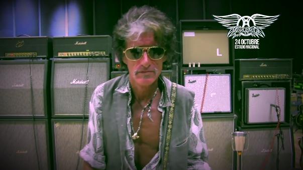Luego de un breve descanso médico Joe Perry se reintegró a los ensayos para la gira de Aerosmith en Latinoamérica.