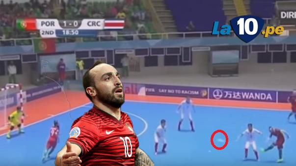 Ricardinho es la estrella del Mundial de Futsal.