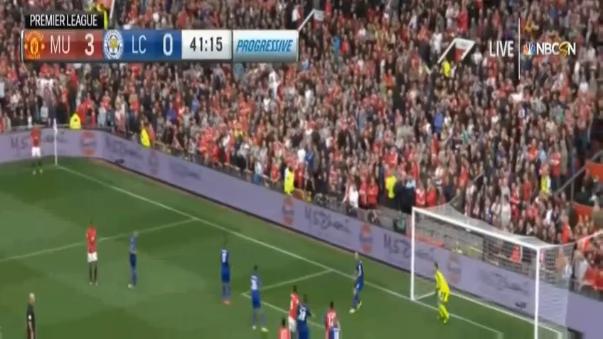 Los hinchas del United por fin pudieron celebrar una anotación de su figura.