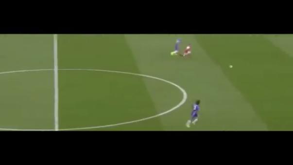 Alexis Sánchez marcó el primero para el Arsenal tras un error grosero de Gary Cahill.