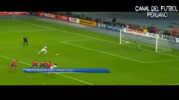 Perú perdió 3-4 ante Chile en Lima.