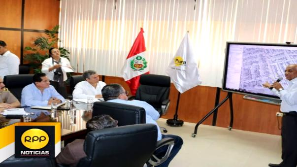 Autoridades de Piura trabajarán pedido de declaratoria de emergencia en materia de seguridad ciudadana.