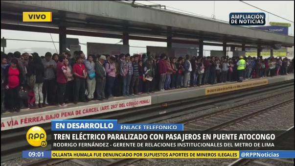 Representante de la Línea 1 dijo que el ambiente es seguro y hay aire para los pasajeros.
