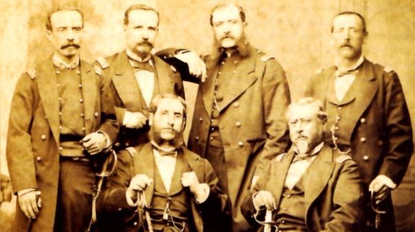 Cáceres dirigió la Campaña de la Breña como resistencia a la ocupación chilena.