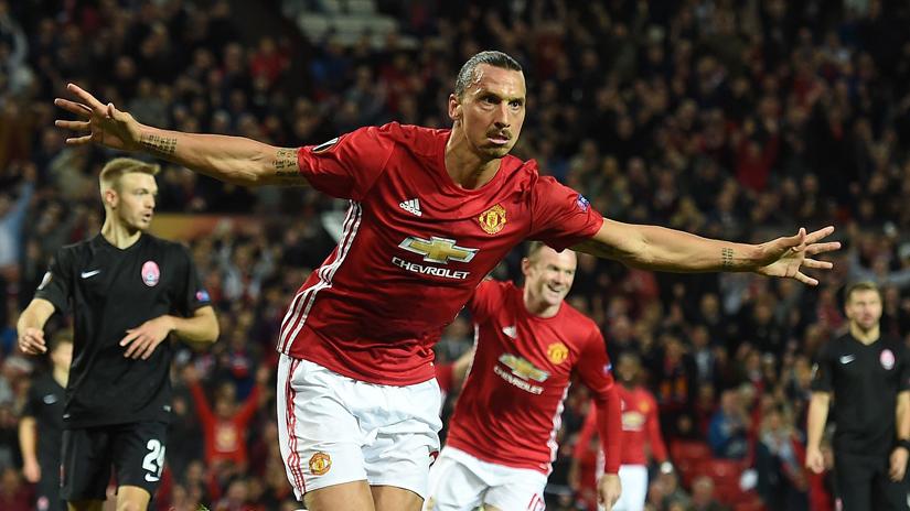 Zlatan Ibrahimovic salvó una vez más a Manchester United.