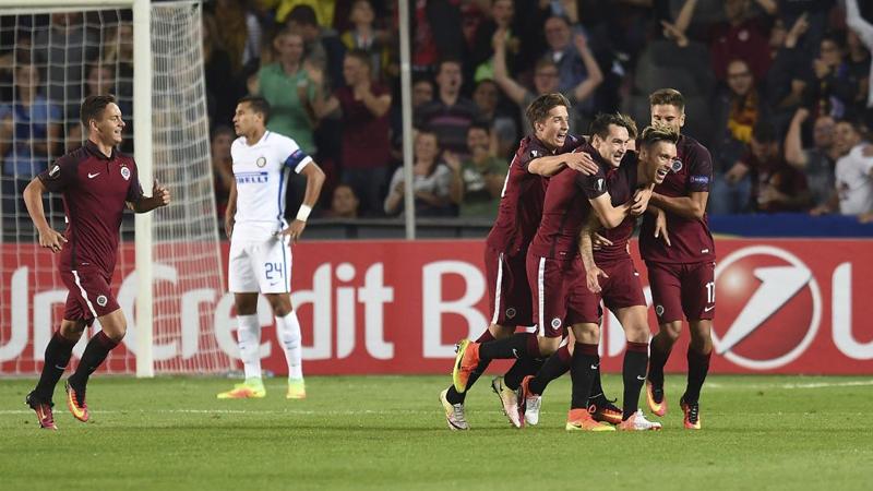 Inter es último en el grupo K con 0 puntos en dos jornadas.