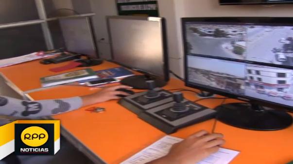 Buenos resultados de la central de vídeo vigilancia del distrito de la Victoria
