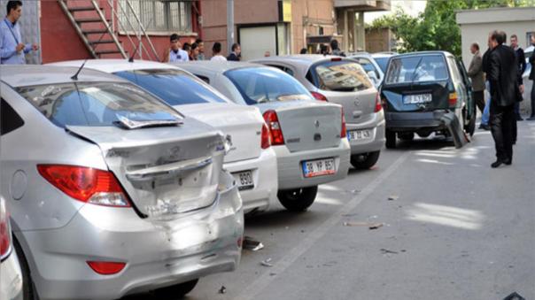 Así quedaron los vehículos impactados luego del incidente.