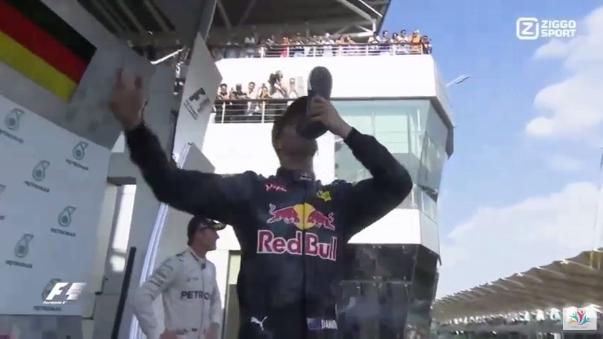 Ricciardo festejó su cuarta victoria en Fórmula Uno, la primera de este año.