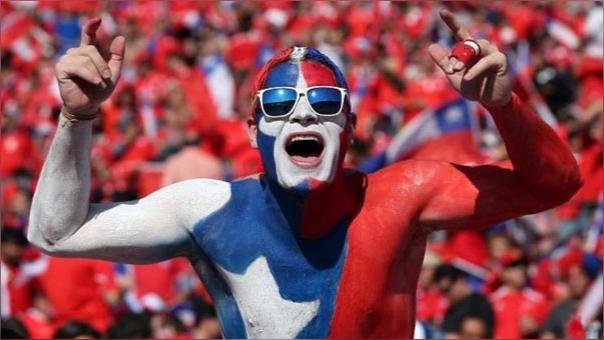 1.- Chile (La FIFA lo sancionó con 130 mil dólares y la suspensión por 2 partidos en el Estadio Nacional debido a cánticos homofóbicos, e insultos políticos en 8 partidos)