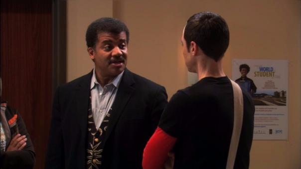 En 2011, el astrofísico tuvo una breve aparición en un capítulo de The Big Bang Theory y fue cuestionado por Sheldon por promover que Plutón sea considerado un planeta enano.