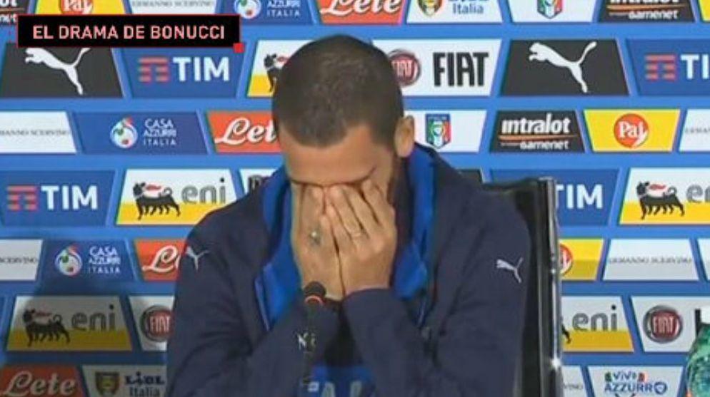 Leonardo Bonucci debutó en el fútbol profesional con la camiseta del Inter de Milán (2005).