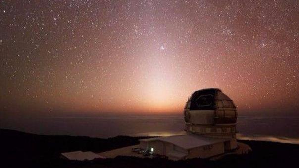 El Gran Telesocopio de Canarias (GTC) está ubicado en el Observatorio del Roque de los Muchachos, en Garafía (La Palma), España.