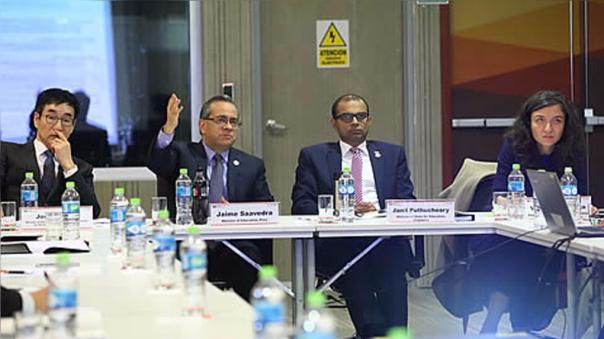 Jaime Saavedra señaló que las economía de APEC reconocen la necesidad de reforzar políticas de innovación.