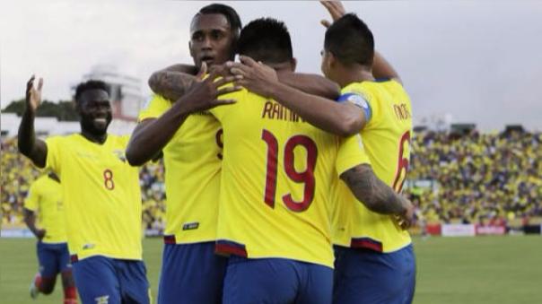 Ecuador 3-0 Chile (Resumen del partido).