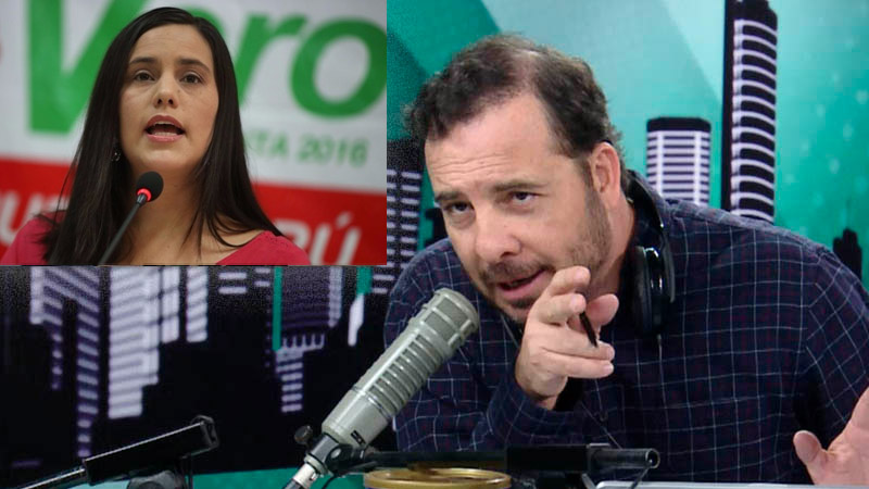 El periodista comentó sobre los últimos candidatos presidenciales.