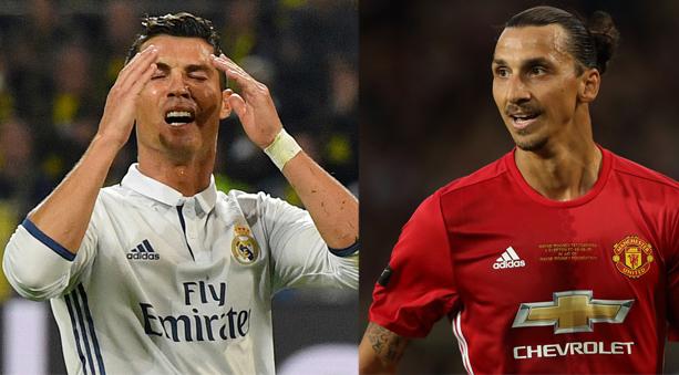 Cristiano Ronaldo y Zlatan Ibrahimovic son los goleadores históricos de sus Selecciones (Portugal y Suecia).