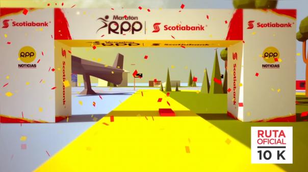 Ruta 10K y 21K de la Maratón RPP Scotiabank