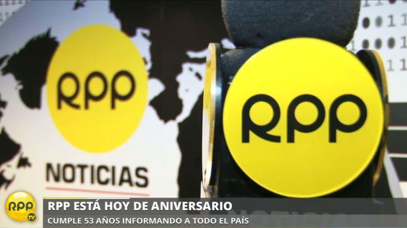 RPP cumple años en medios informando al país y evolucionando para llegar a más público.