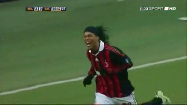 Ronaldinho es uno de los mejores de la historia.