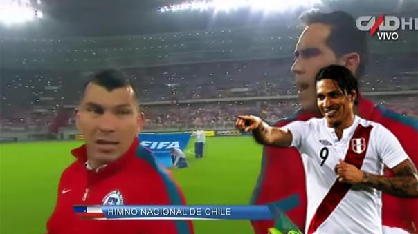 El día que Gary Medel insultó a hinchas peruanos en las Eliminatorias.