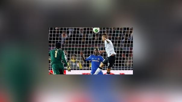 El gol de Paolo Guerrero en la final del Mundial de Clubes 2012.