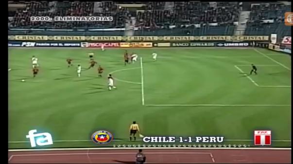 La última vez que Perú sumó por Eliminatorias en Santiago fue en las Eliminatorias 2002 con golazo de Juan Jayo.
